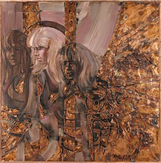 Artist Roland Hockett